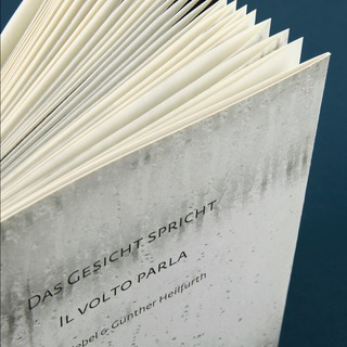 <strong>Artist Publication</strong><br/> <em>Das Gesicht spricht | Il Volto Parla</em><br/> by Beta Siebel & Günther Heilfurth